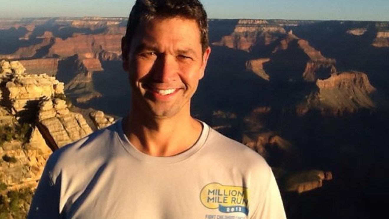 Running the Grand Canyon——AGAIN. To Fight Cancer
