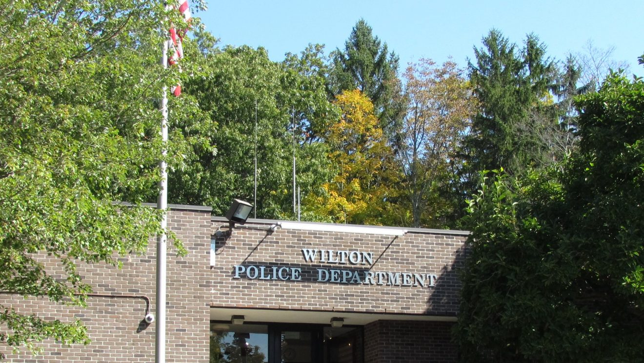 GMW's VIDEO Tour:  Wilton's Overcrowded, Aging Police HQ