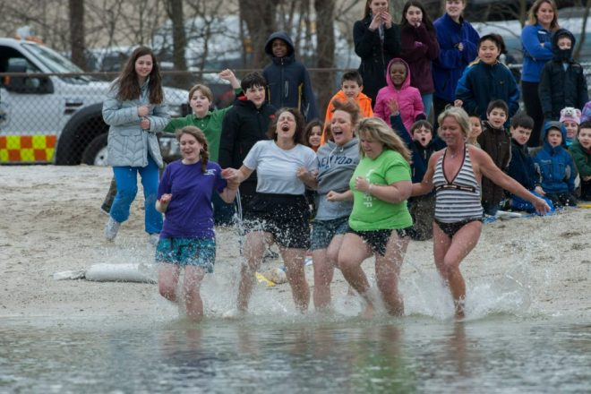 UPDATED:  Go Jump in a Lake!  Wilton Y Staffers WILL, to Raise Funds