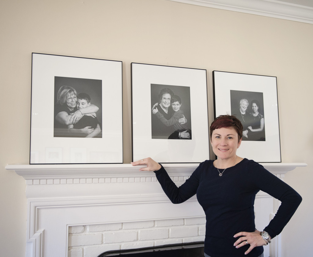 nina-pomeroy with framed pics