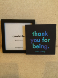 quotable cards frames