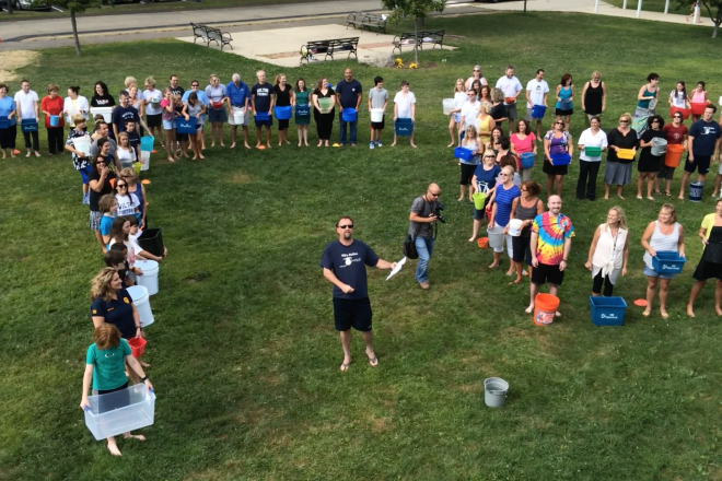 VIDEO:  Middlebrook 'Lights a Fire' Under Ice Bucket Challenge