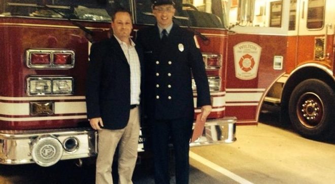 "Letter:  ""Thank You, Wilton Firefighter, for Saving My Life"""