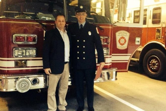 """Letter:  """"Thank You, Wilton Firefighter, for Saving My Life"""""""