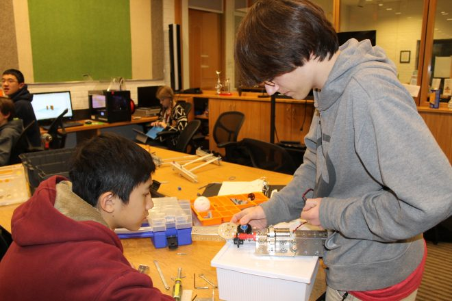 """""""Discover, Dabble, Do-It-Yourself"""" at Wilton Library's Innovation Day"""