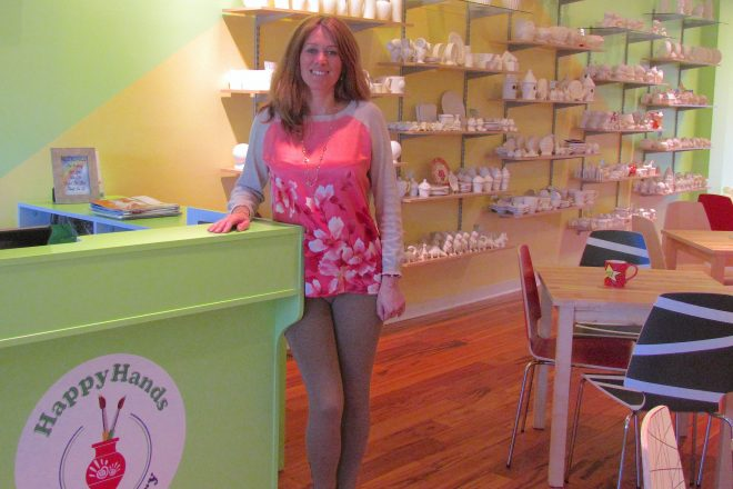 Meet the People Behind the Wilton Business:  Alla Ionescu, Happy Hands Art & Pottery