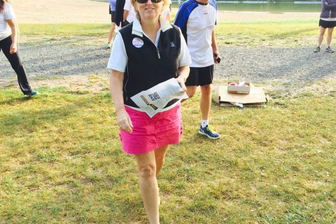 "Vanderslice to Lead ""Walk with Lynne"" Tuesday"