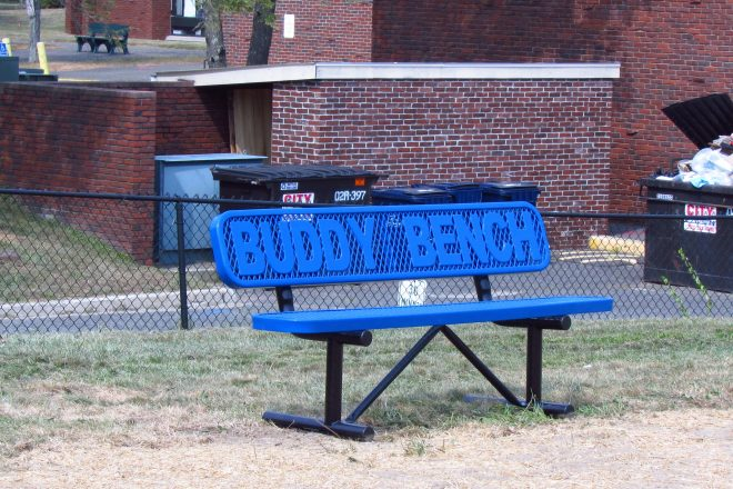 "Miller-Driscoll Adds ""Buddy Benches"""