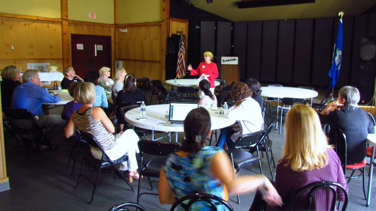 Wilton Realtors Meet Candidate Vanderslice, Give an Earful on Town Issues