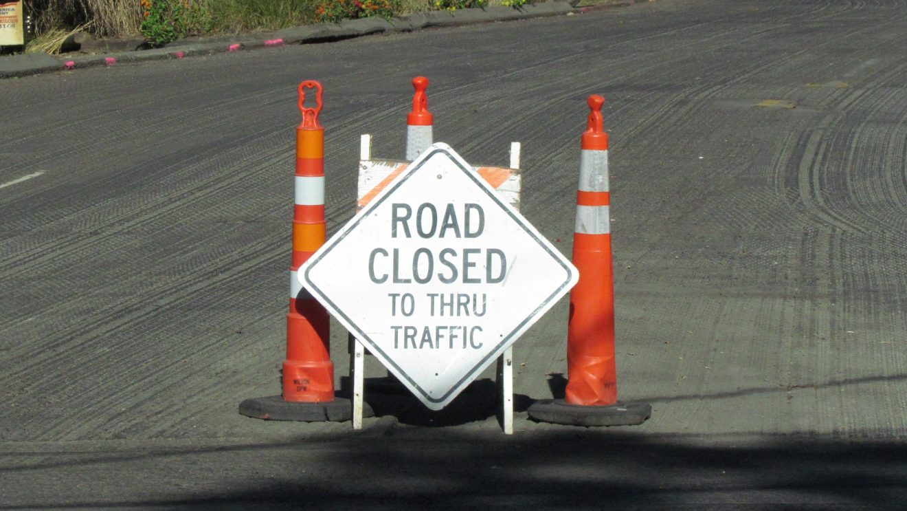 Police Alert Motorists to Pimpewaug Rd. Closure