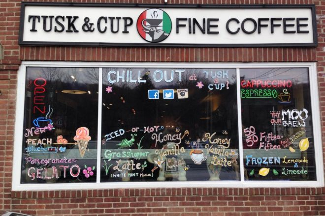 Tusk & Cup Fine Coffee To Open in Wilton Center This Spring