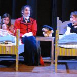 Hailey Smith, center, as Mary, sings to Jane (Daniella Sallesse) and Michael (Eli Foodman).