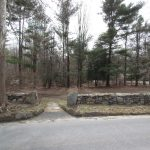 The lot on Honey Hill Rd. where Gaboriault wants to relocate the frame of 211 Hurlbutt St.