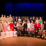 "The cast of Wilton Children's Theater ""Mary Poppins"" (photo:  Peggy Garbus)"