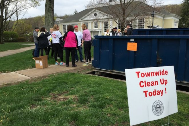 Anonymous $500 Donation Lets Wilton Offer Prizes at Saturday's Town Clean Up