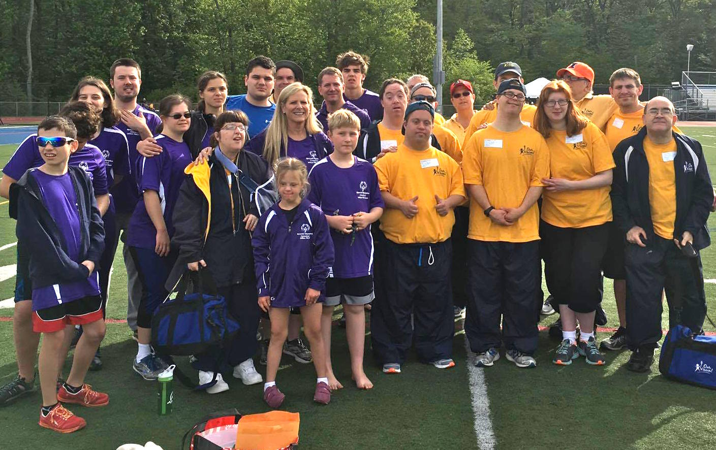 Wilton Family Y Athletes Compete in Special Olympics Time