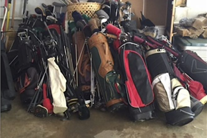 WHS Boys Golf Team Tees Up Used Equipment Collection for Needy Young Golfers & Military Families
