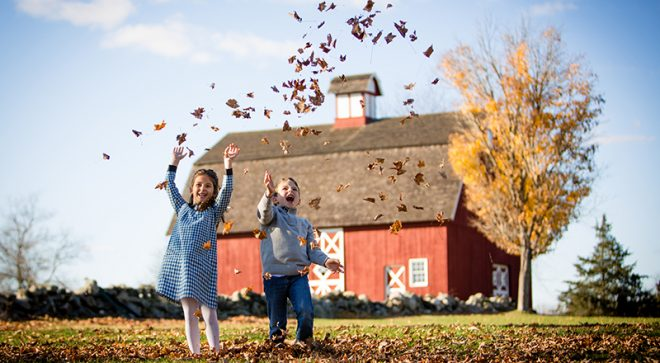 'Tis the Season… For Fall Family Portraits, and We've Got Top 10 Tips