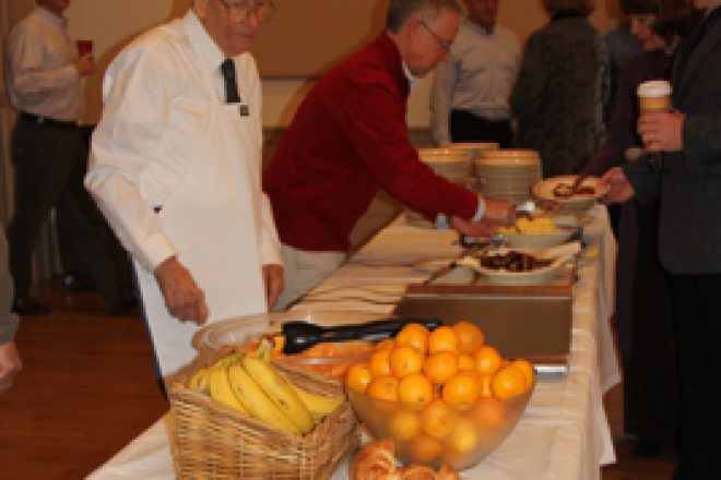 Wilton Congregational Church Welcomes Community to Breakfast Sunday