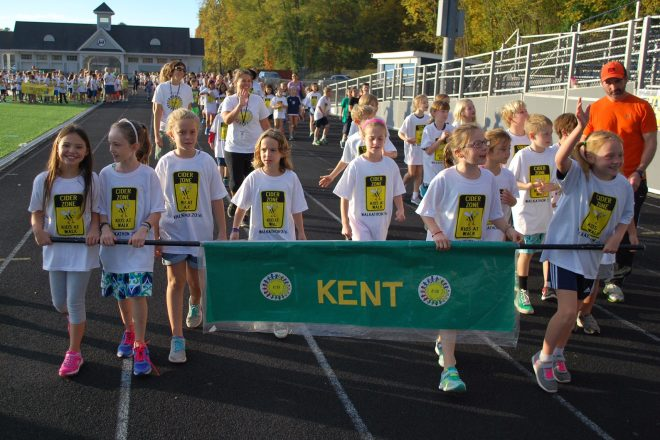 Cider Mill Students Raise $28,000–One Step at A Time [Photos]