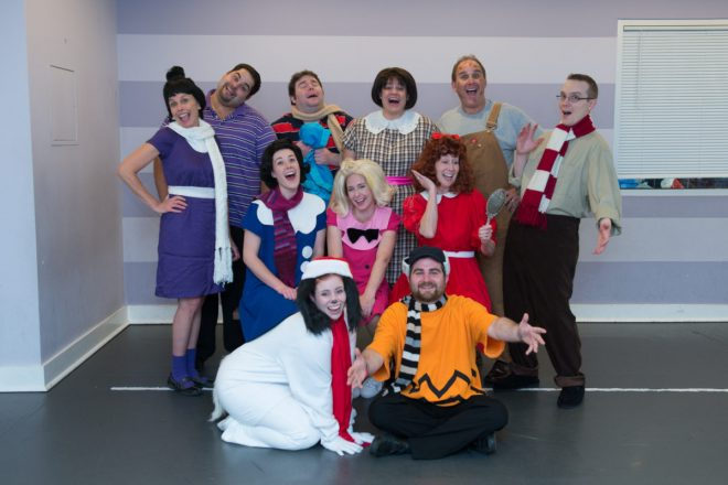 """A Family-Fun Experience at Wilton Playshop:  """"A Charlie Brown Christmas"""""""