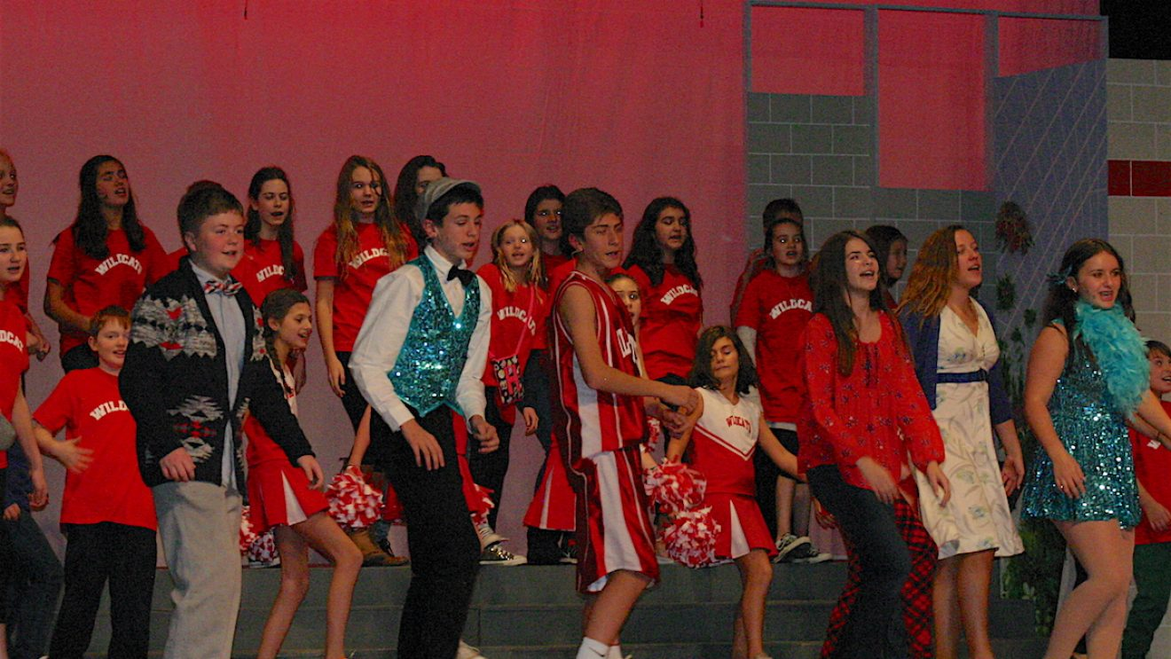 """Wilton Children's Theater """"High School Musical"""":  We're All In This Together"""