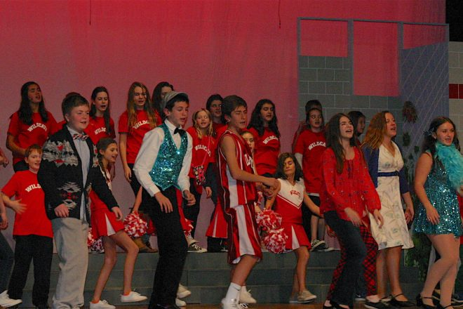 "Wilton Children's Theater ""High School Musical"":  We're All In This Together"