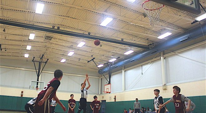 WHS Full Court Peace Club Hosts Free Throw Competition Fundraiser