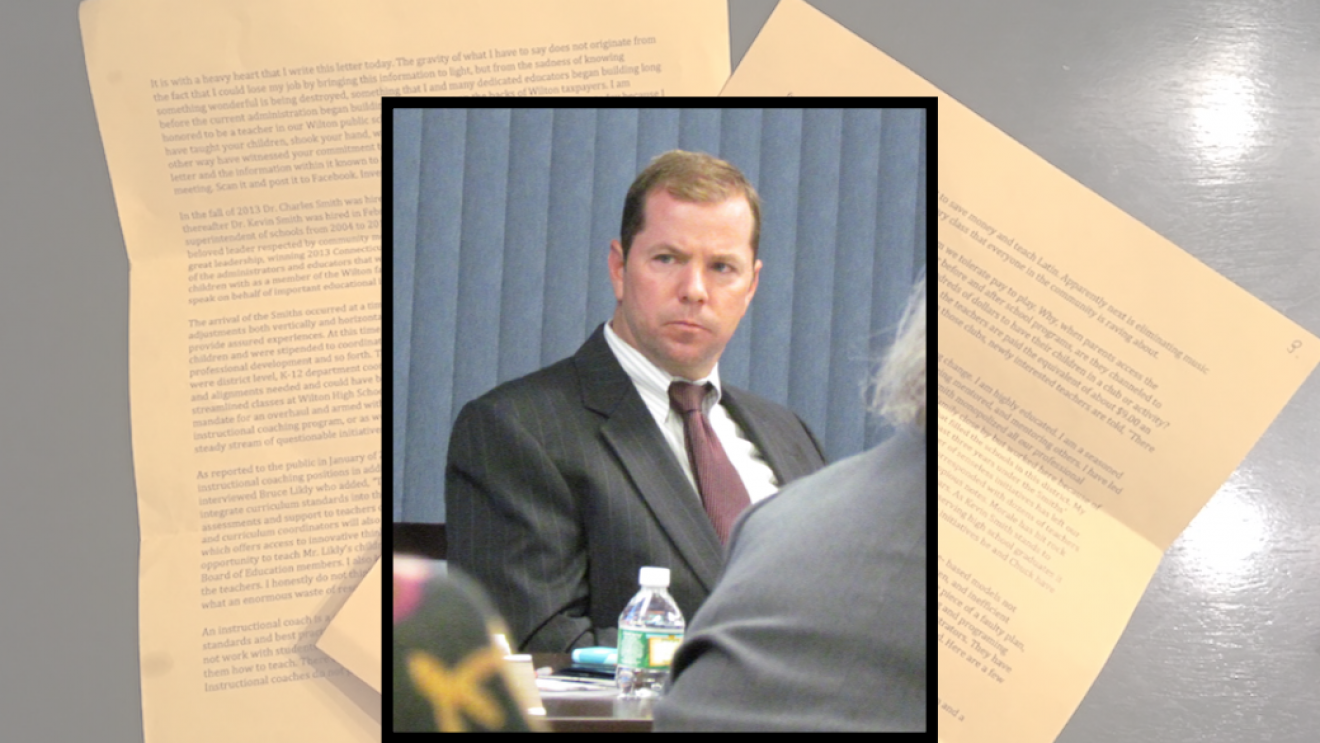 SPECIAL REPORT–Anonymous Letter: Superintendent Dr  Kevin Smith