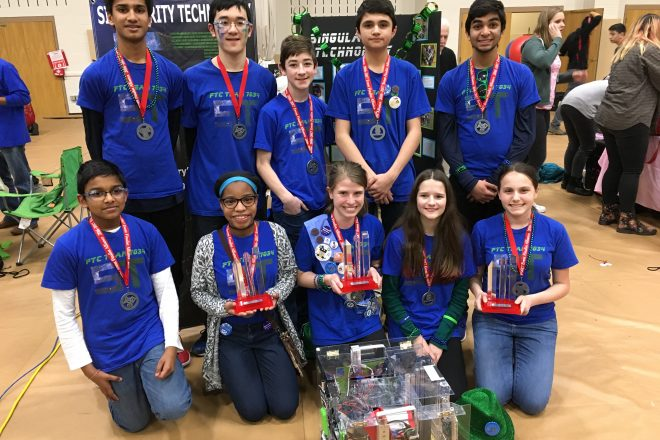 Wilton Library's Robotics Team Earns 1st Ever Championship Berth