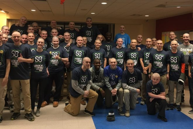 St. Baldrick Shaved Heads at WHS Mean Fundraising $$ for Pediatric Cancer Research