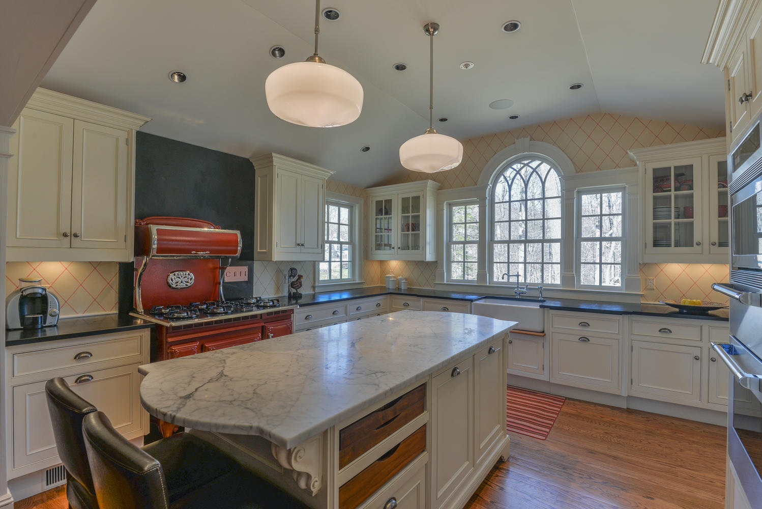 Renovated Elegant Home At 77 Pheasant Run Shows Detail And Quality Good Morning Wilton