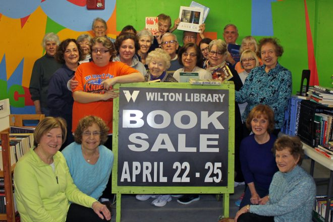 Wilton Library's Gigantic Annual Book Sale Booked for April 22-25