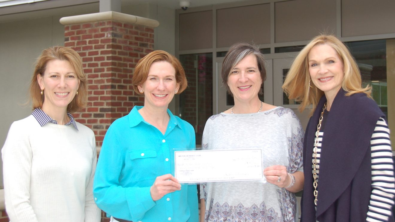 Woman's Club Donates $40,000 to Wilton Youth Council to Prevent Substance Abuse