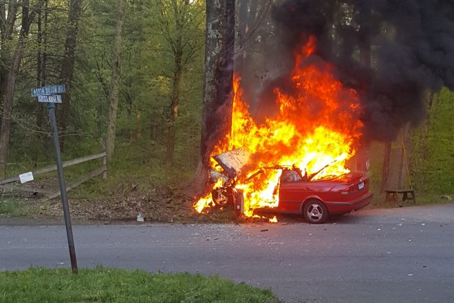 Wilton Man to Receive Commendation After Pulling Driver from Burning Car
