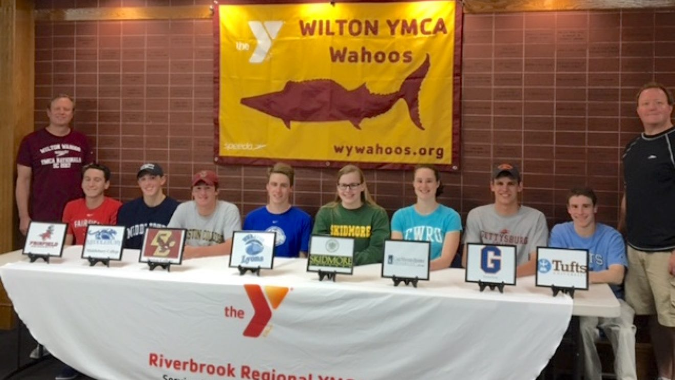 More Graduating HS Seniors from Wilton Commit to Compete in College