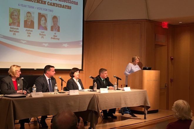 Board of Selectmen Candidates Show Off Differences and Experience [VIDEO]