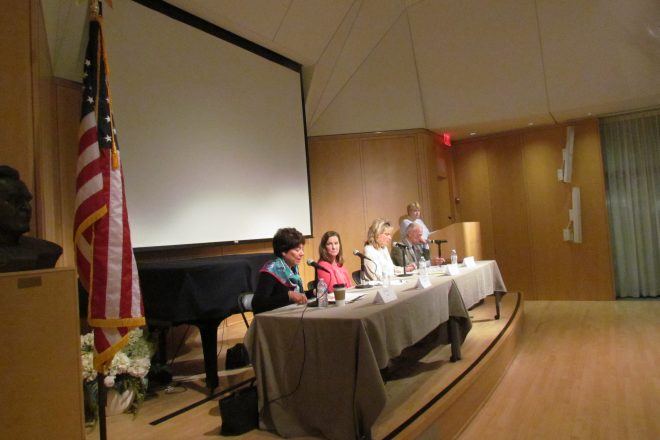 Board of Education Candidates Talk Budget, Student Success–and Sitting for the Pledge