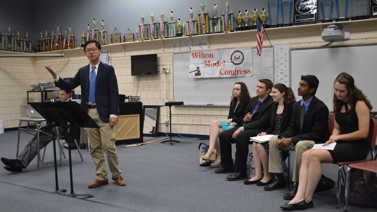 WHS Model Congress Hosted Conference