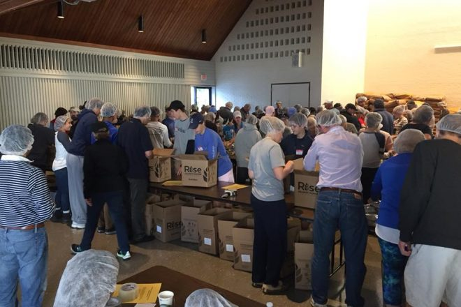 Don't Miss One of Wilton's Most Gratifying Community Volunteer Events–WI-ACT'S Rise Against Hunger