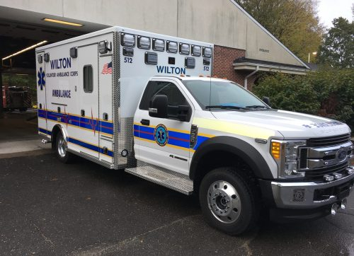 "2018 Call Volume is ""Highest Ever"" for Wilton Ambulance–and Likely Will Only Increase"