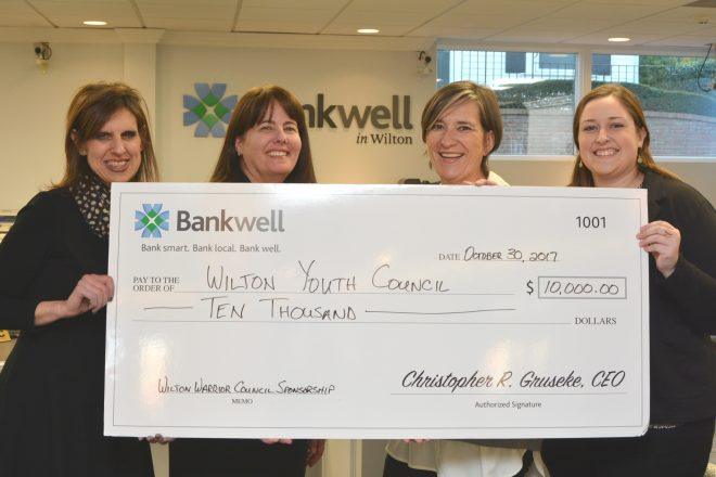 Bankwell Helps to Launch Substance-Free Wilton Warrior Council for Teens