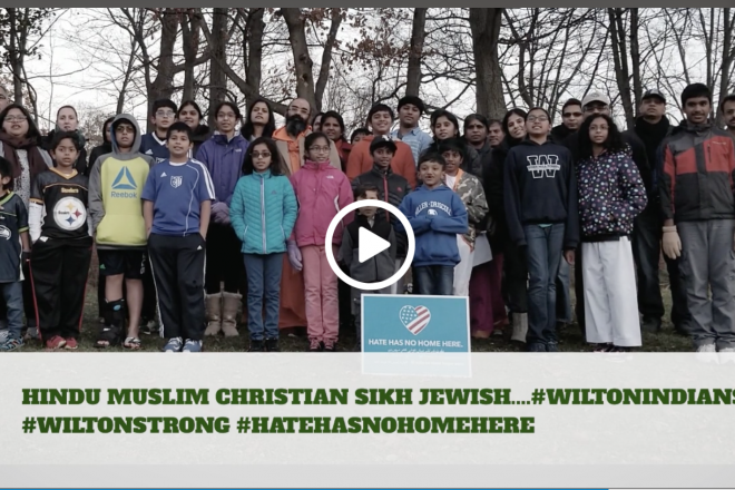 Video from Wilton's Indian Community Adds Voices to #WiltonStrong