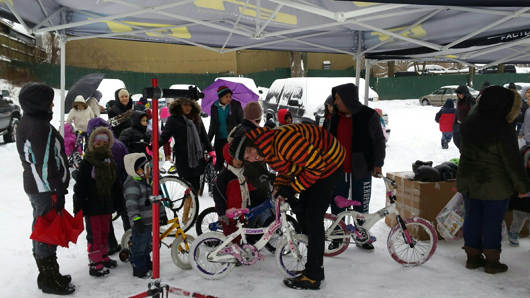 "A ""Wheel World"" Chance to Help through Santa's Workshop/Bike Rehab Charity Event"
