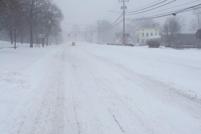 Wilton Police:  Only One Storm-Related Accident, but Still Caution Residents