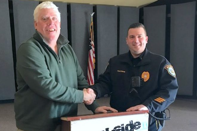 A Little Scruff for Wilton Police Officers Means $$ for Wilton Organizations