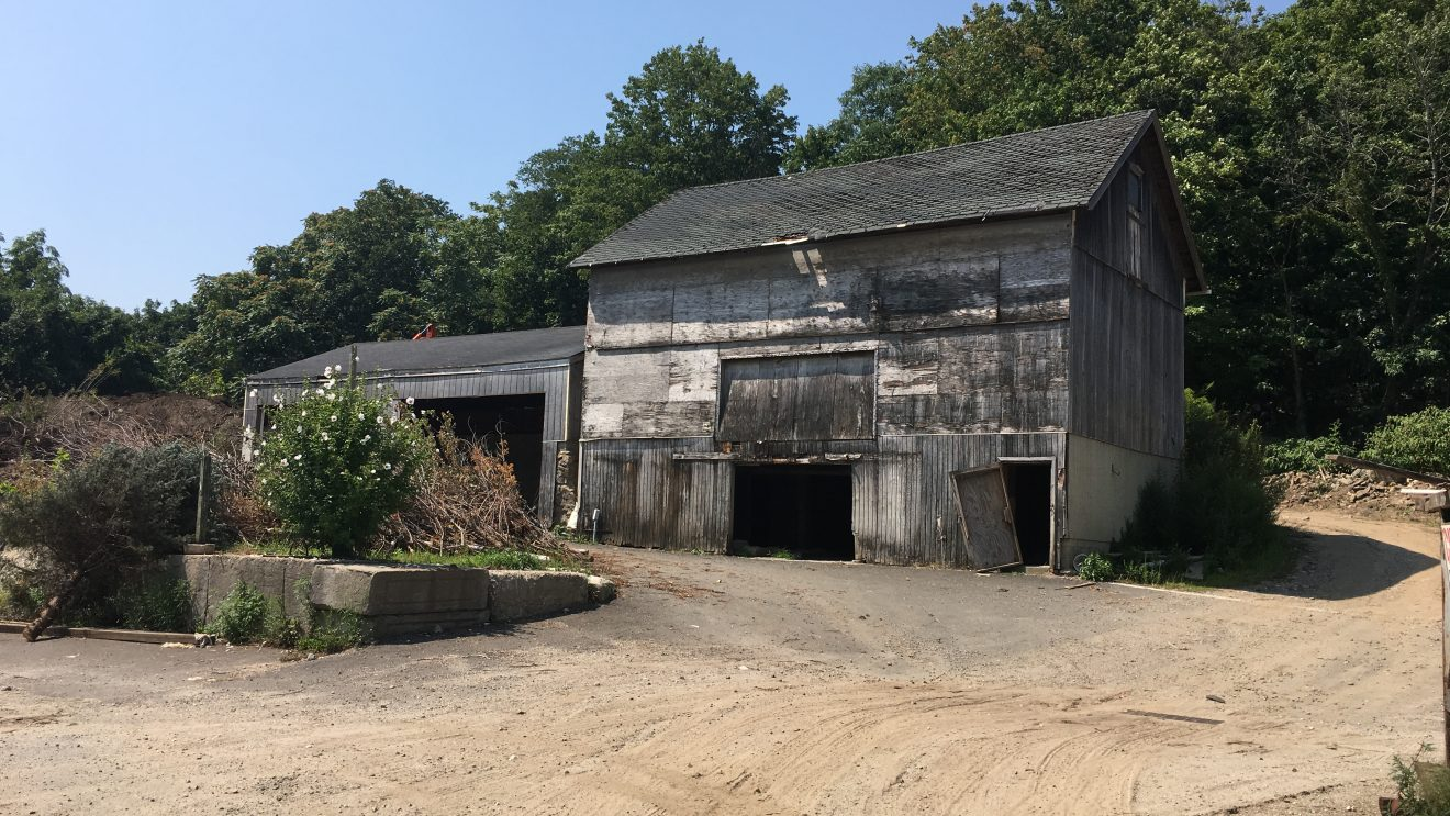 Sunrise Senior Living Saves Antique Barn at Frm. Young's Nursery Site