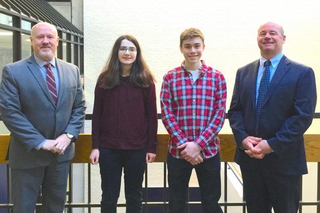 Two WHS Seniors are National Merit Scholarship Finalists