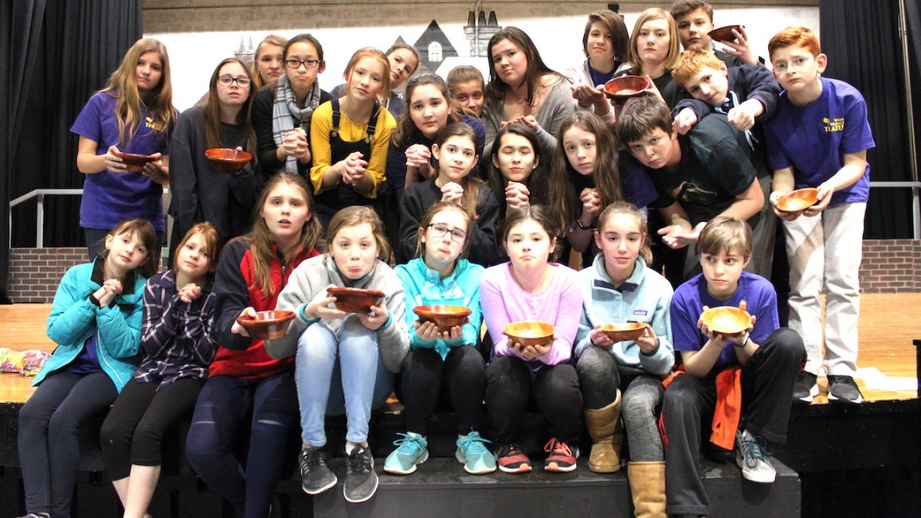 """Wilton Children's Theater """"Oliver!"""" Cast Holds Food Drive for Wilton Food Pantry"""
