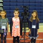 Miller-Driscoll TV reporters covered the faire.